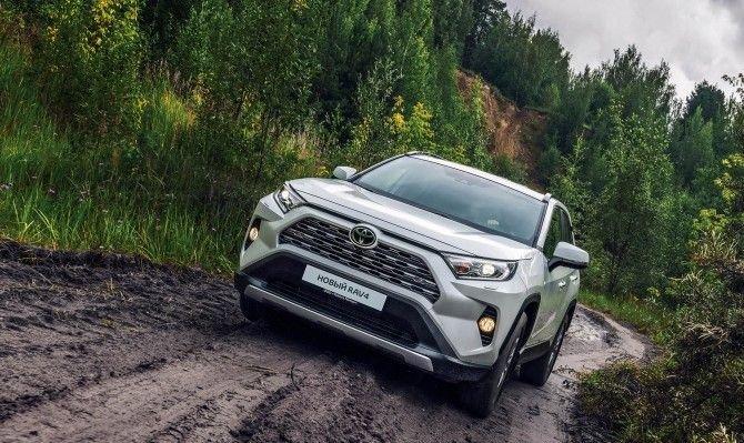 Пятое поколение Toyota RAV4 начнут делать в России с октября