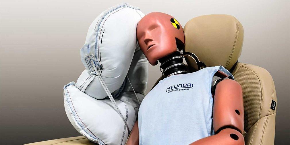 Чтоб не бились головами - новая подушка безопасности Hyundai