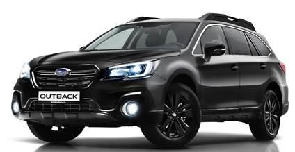 Subaru Outback Black Line - новая версия для России