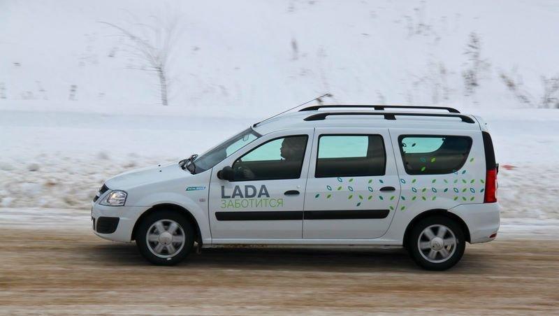 Уникально доступный LADA Largus CNG - только в октябре