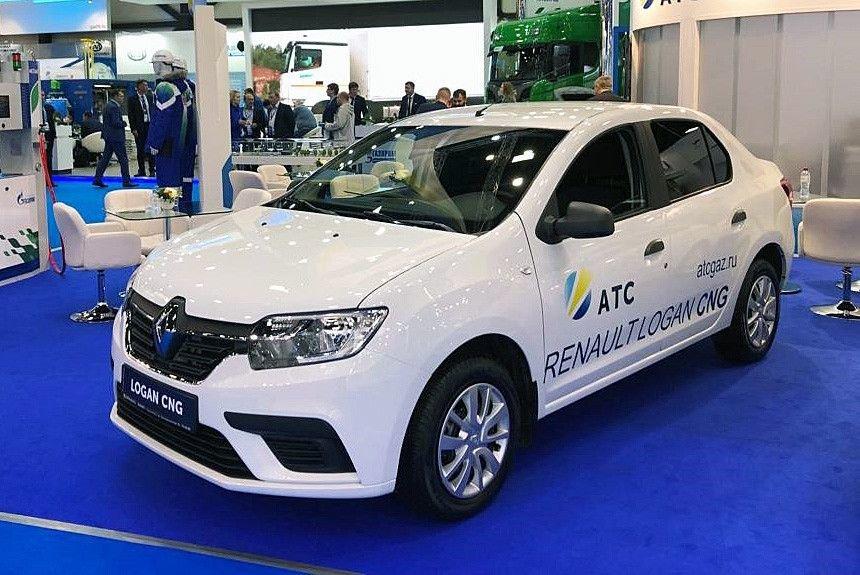 «Газового полку» прибыло: теперь и Renault Logan CNG