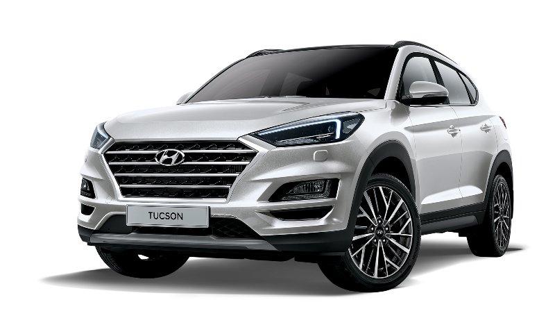 Hyundai Santa Fe и Tucson блеснут новыми двигателями в рок-версии