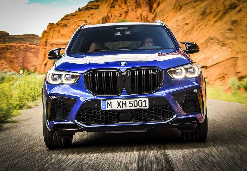 Самые «заряженные» Бумеры: кроссоверы BMW X5 M и X6 M нового поколения