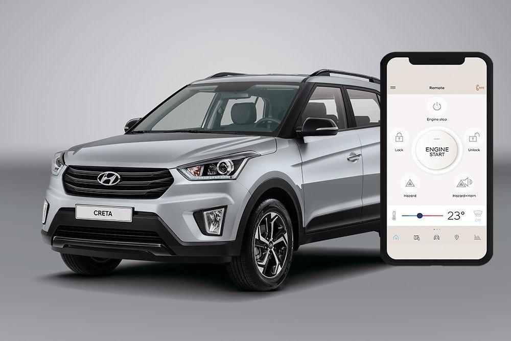 Всеми Hyundai Creta можно будет управлять через смартфон