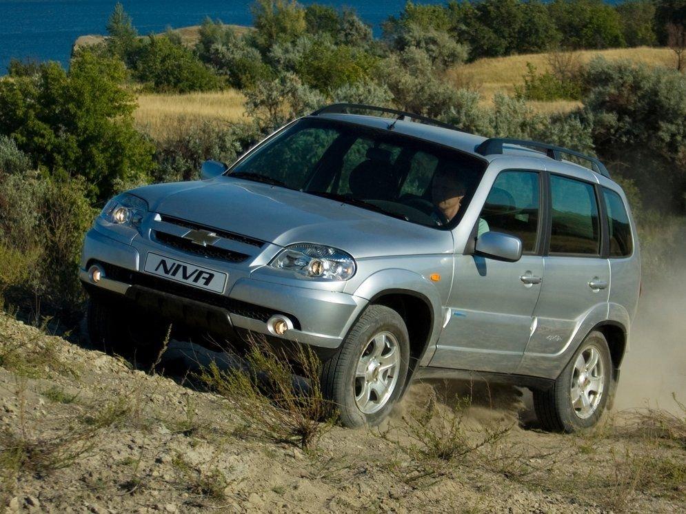 А Chevrolet Niva продолжает потихоньку дорожать