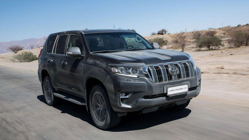 Toyota Land Cruiser Prado уходят на отзыв из-за топливной трубки
