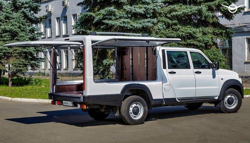 УАЗ придумал новую модификацию «Профи» и немножко снизил цены на экспедиционный «Патриот»