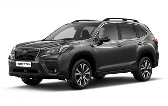 Обновленный Subaru Forester уже можно заказать