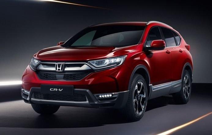 В Россию прибудет рестайлинговая Honda CR-V
