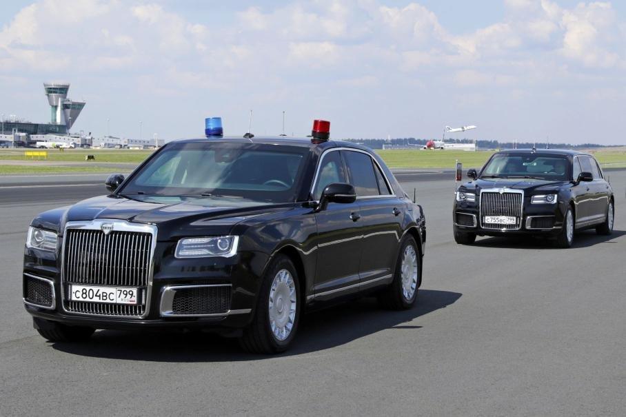 Поставки автомобилей Aurus начнутся в марте 2021 года