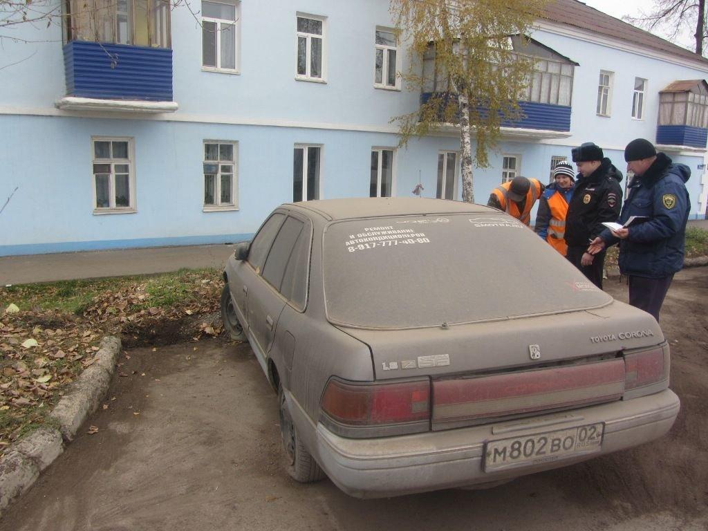 За бесхозный во дворе автомобиль введут штрафы