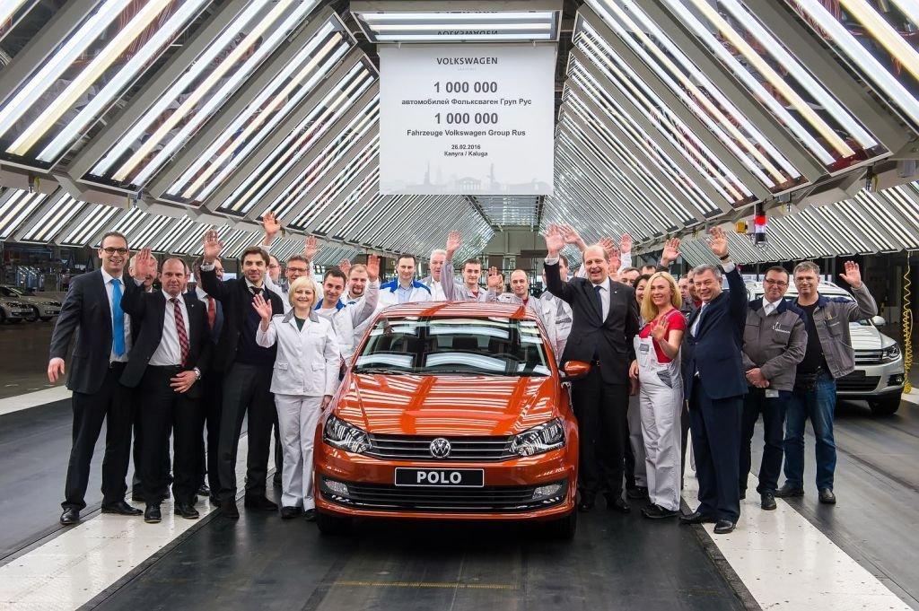 Сегодня 27 апреля завод Volkswagen в Калуге возобновил работу.