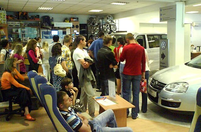 В России вырос спрос на автомобили?