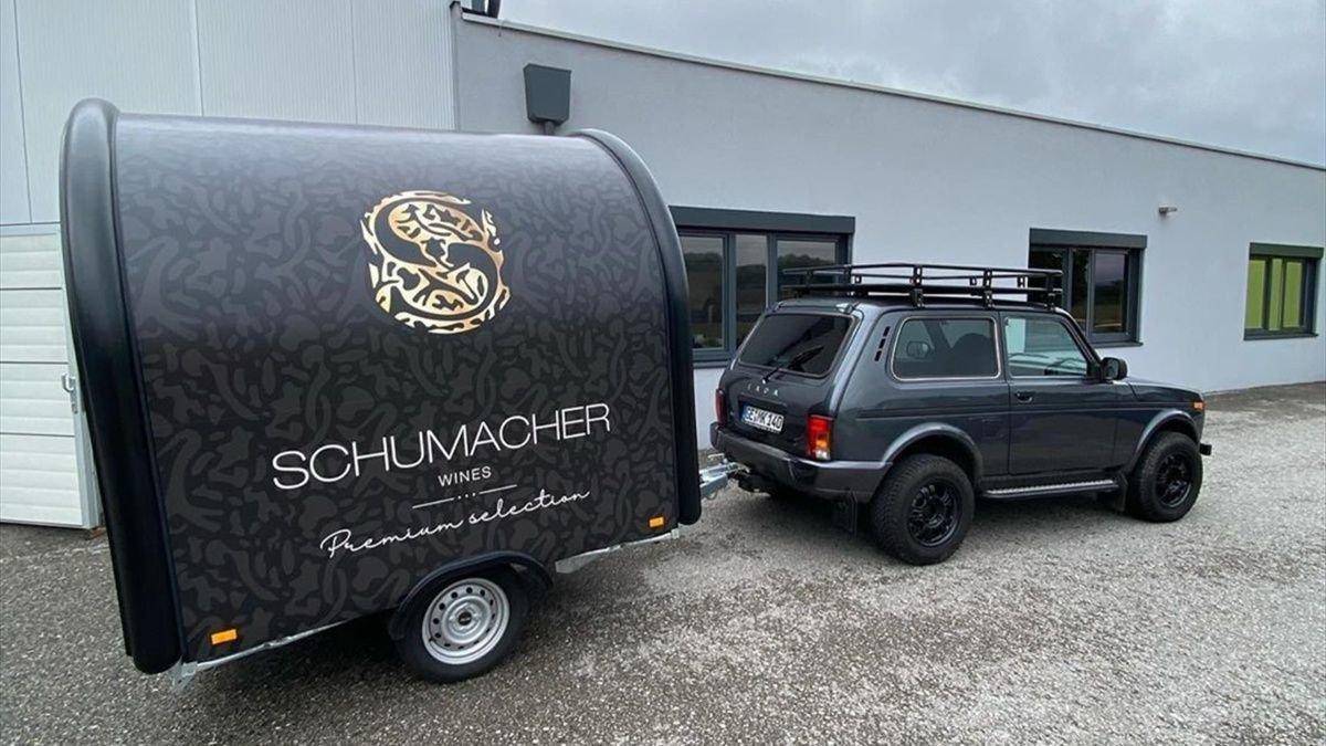 Шумахер модернизирует Lada 4x4