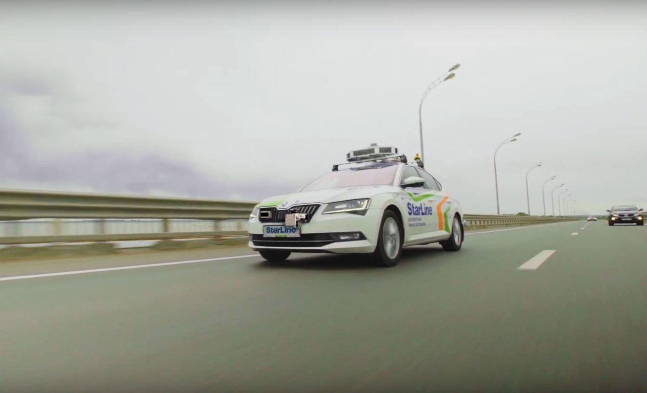 Беспилотник готов выехать на дороги Санкт-Петербурга