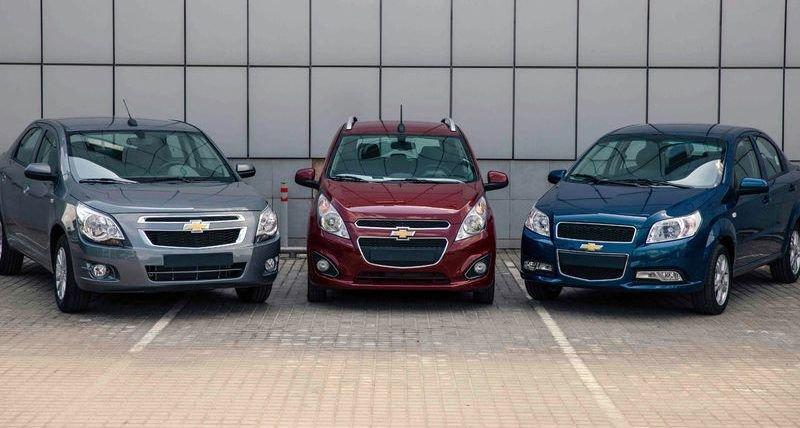 В Россию вернулись бюджетные модели Chevrolet