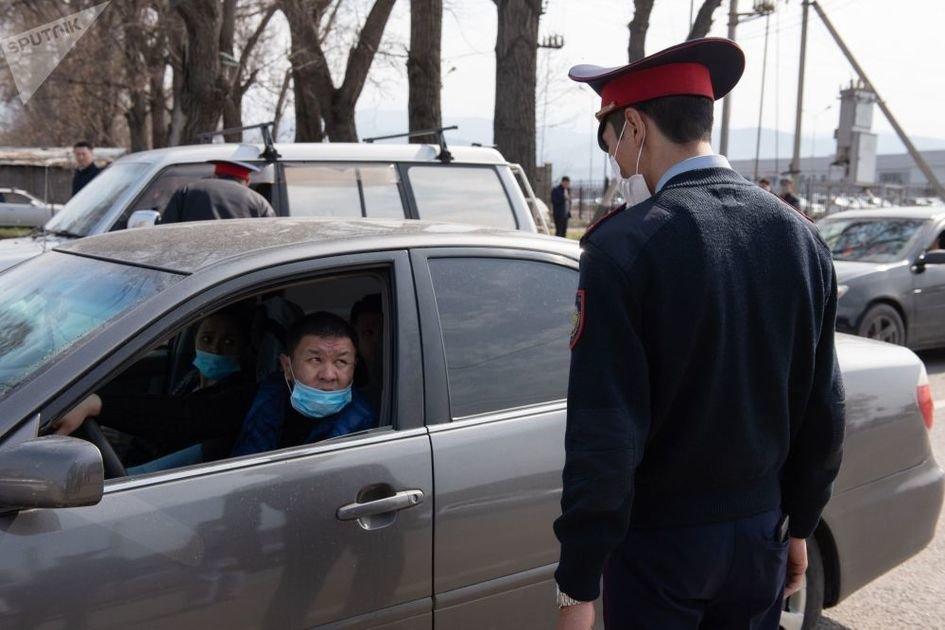 Патрульная служба Кыргызстана решила не штрафовать за мелкие нарушения