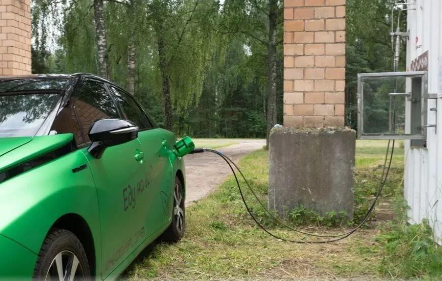 В России появилась первая водородная АЗС