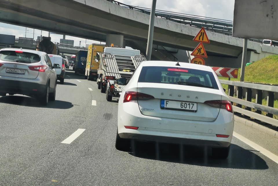 Новая Skoda Octavia уже на дорогах России