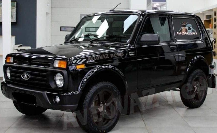 Сошли с конвейера Lada 4×4 Urban в версии Black