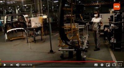 Как самоуправляемые тележки помогают в производстве Lada Granta
