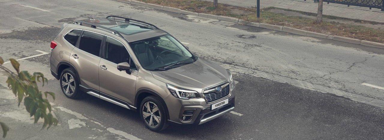 Subaru Forester победил в номинации «Среднеразмерный кроссовер» премии «Внедорожник года».
