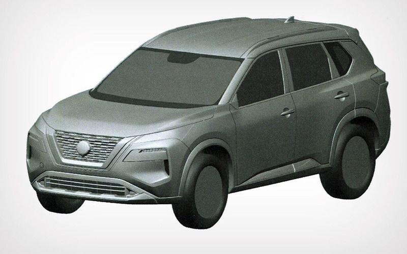 В России запатентовали новый Nissan X-Trail