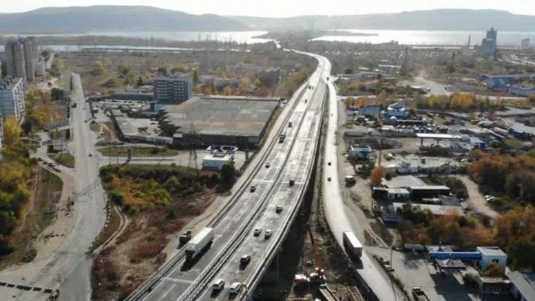 В Тольятти открыто движение по обеим сторонам нового путепровода М-5