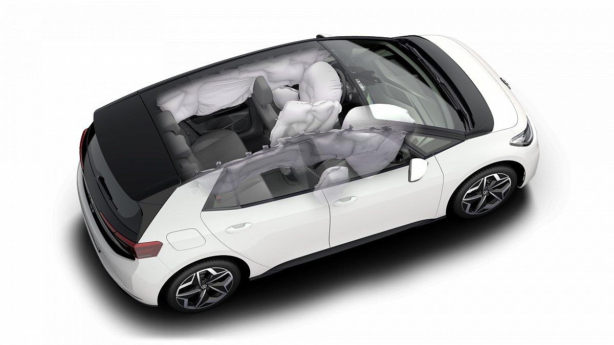 Volkswagen ID.3 по результатам испытаний Euro NCAP получил пять звезд
