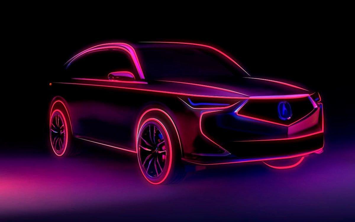 Ждем премьеру кроссовера нового поколения Acura