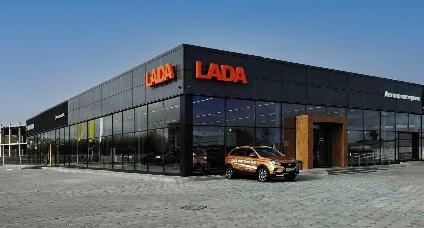 Новый автоцентр LADA открылся в Беларуси