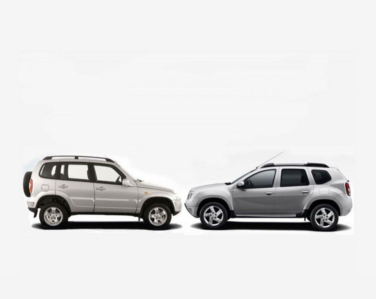 Полемика в Сети: LADA Niva или Renault Duster?