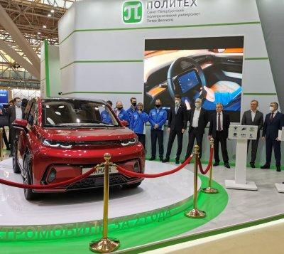 Сегодня состоялась презентация электромобиля «КАМА-1»
