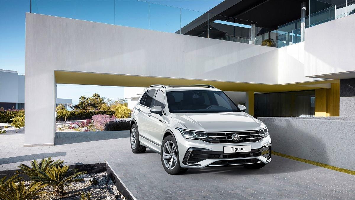 Volkswagen объявил цены на новый Tiguan