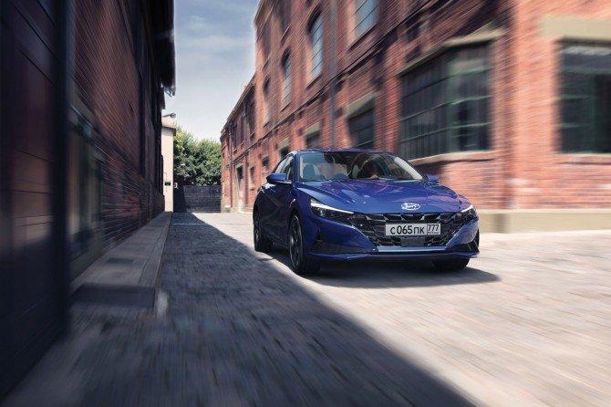 Hyundai объявила цены на новую Elantra для российского рынка