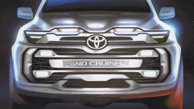 Появились изображения нового внедорожника Toyota Land Cruiser