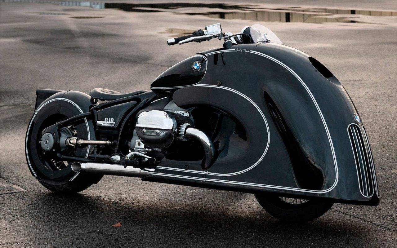 Мотоцикл BMW R 18 получил огромные «ноздри»