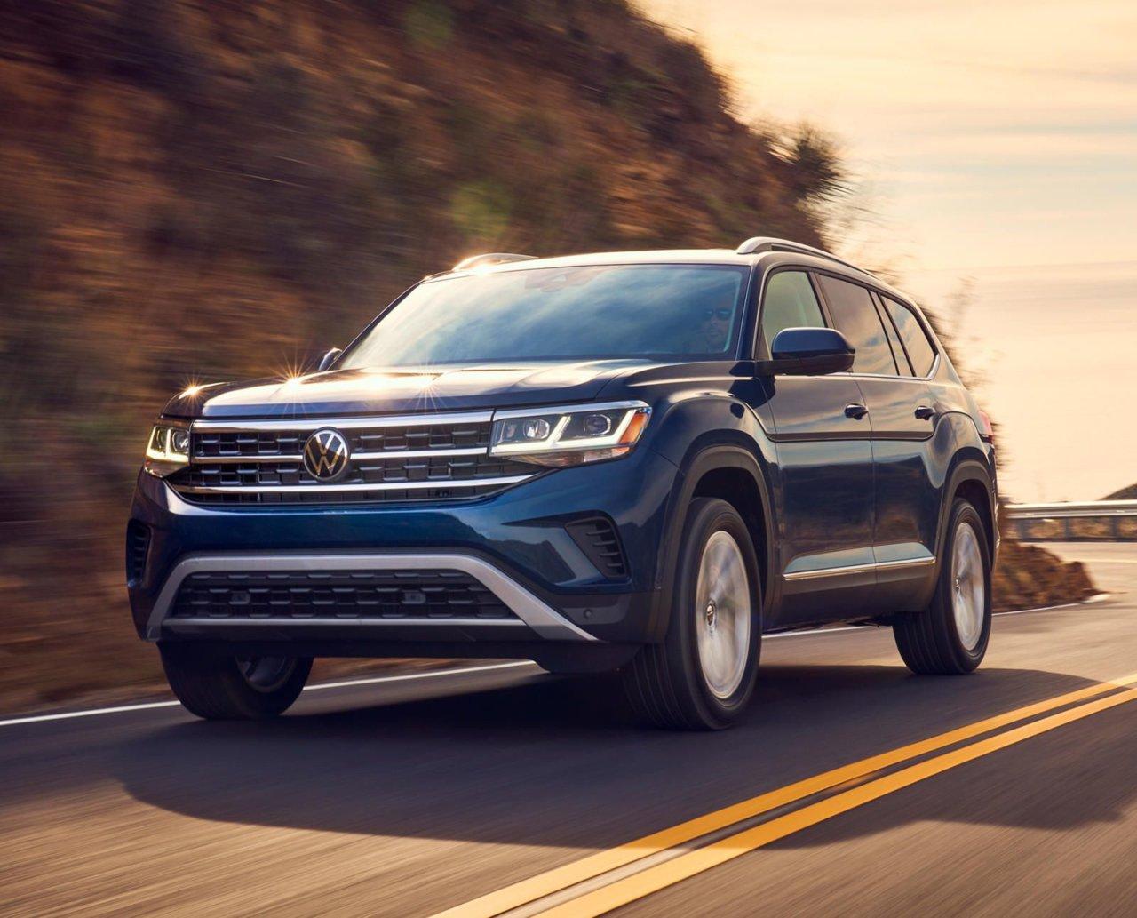 Volkswagen анонсировал обновленный Teramont для России