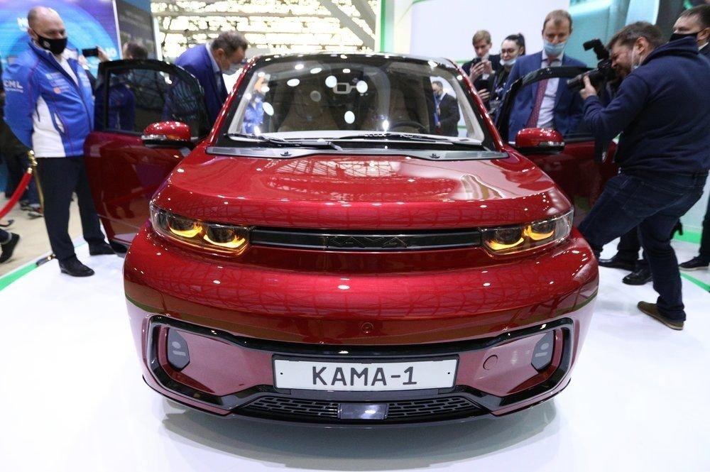 Городской электрокар от «КамАЗа» превратят в седан и грузовик