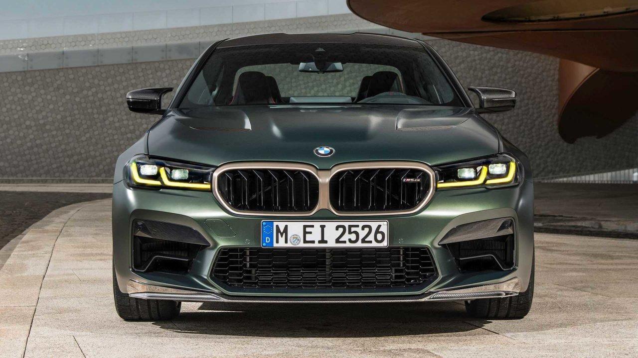 BMW представила самую мощную и быструю «пятерку» в истории