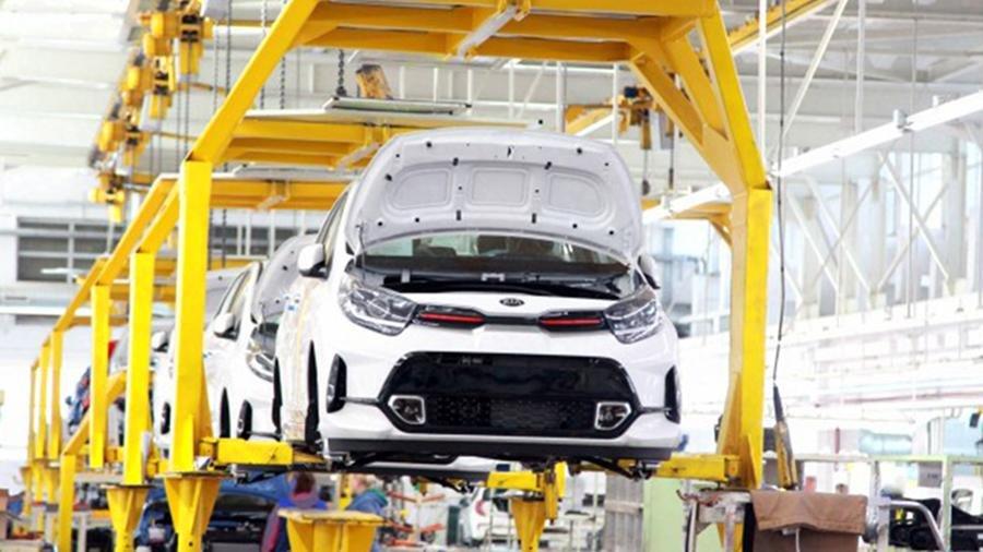 В России началось производство обновленного хетчбэка Kia Picanto