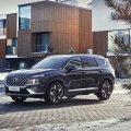 """На российский рынок """"выехал"""" обновленный  Hyundai Santa Fe"""