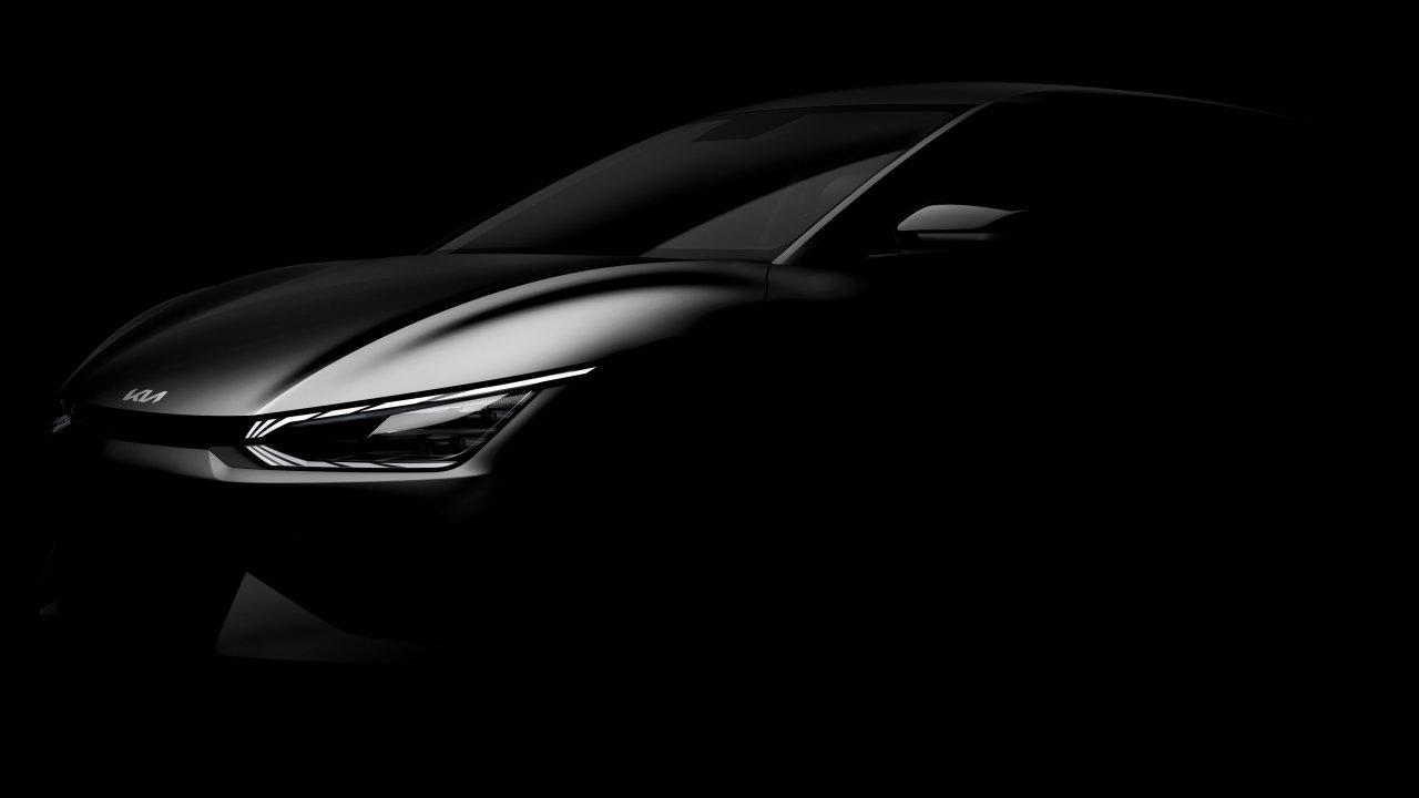 Первые изображения Kia EV6 – первого электромобиля нового поколения