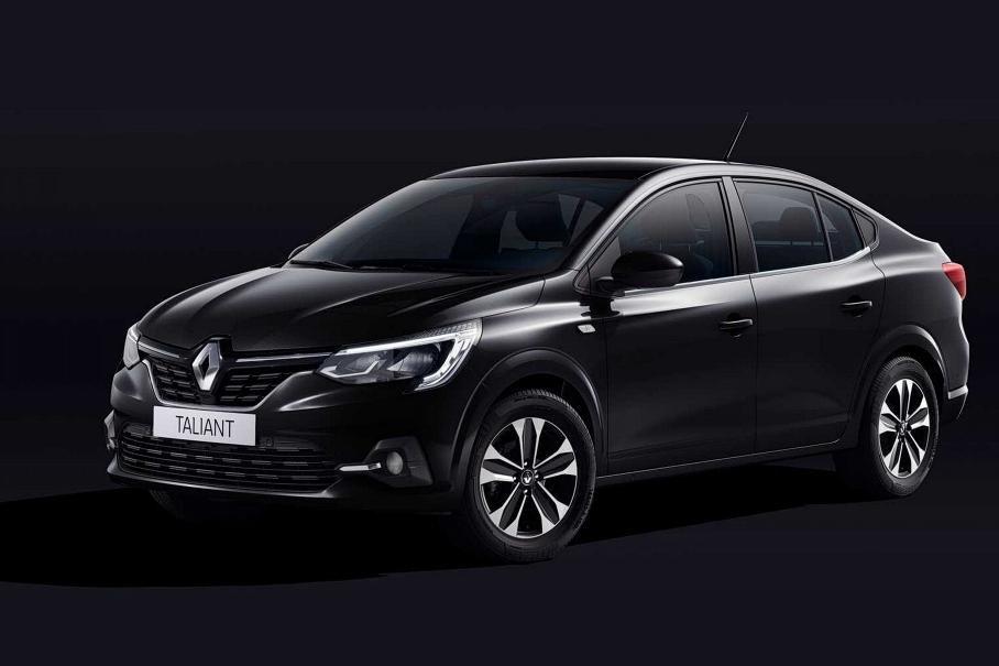 Седан Renault Taliant придет на смену Logan
