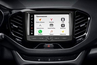АВТОВАЗ объявляет о создании новой мультимедийной системы LADA EnjoY Pro