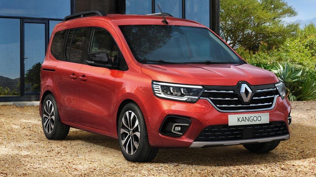 Представлены обновлённые Renault  Kangoo и Express 2021 года