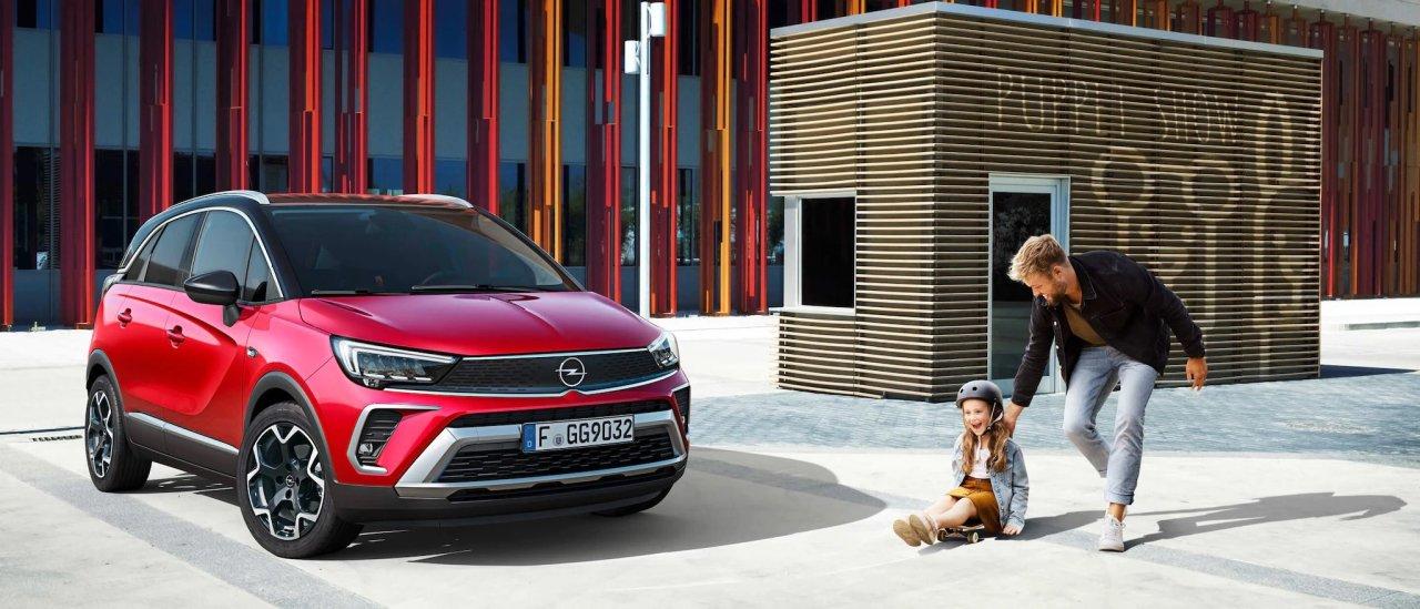Дилеры Opel начали прием заказов на новый кроссовер Opel Crossland