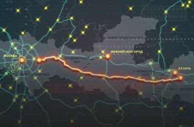 Новая трасса М-12 в два раза сократит время в пути между Москвой и Казанью