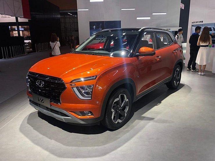 В Питере стартовала тестовая сборка кроссоверов Hyundai  Creta второго поколения
