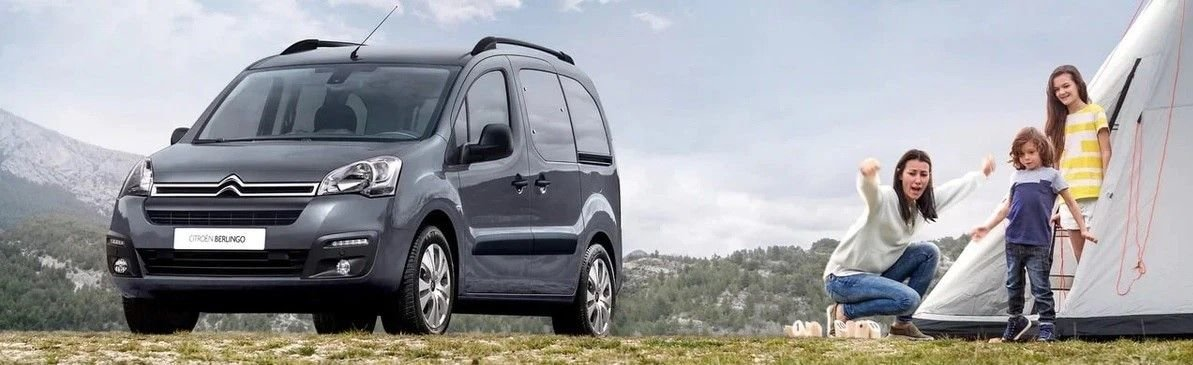 CITROЁN BERLINGO – лучший грузовой фургон 2021 года в России